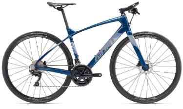 giant hybrid bike with flat bars