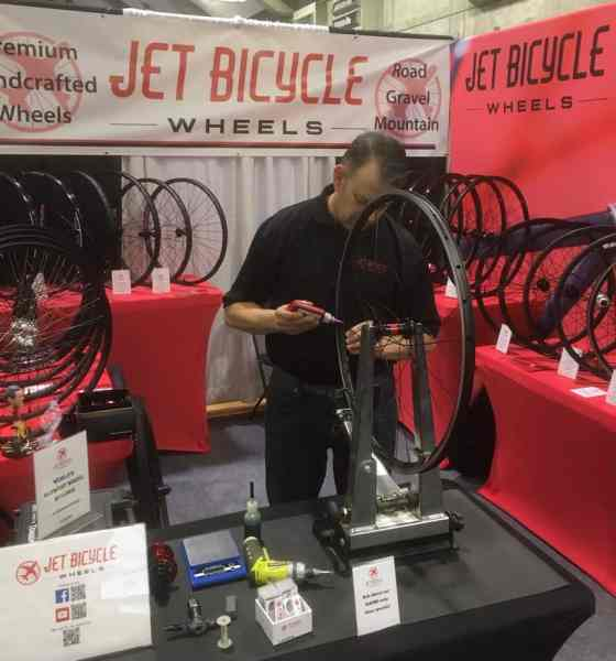 Wheel Building with Jet Bicycle Wheels at NAHBS