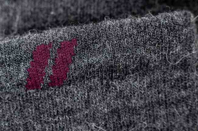 alpaca socks with logo