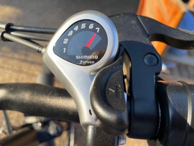 Shimano 7 speed shifters