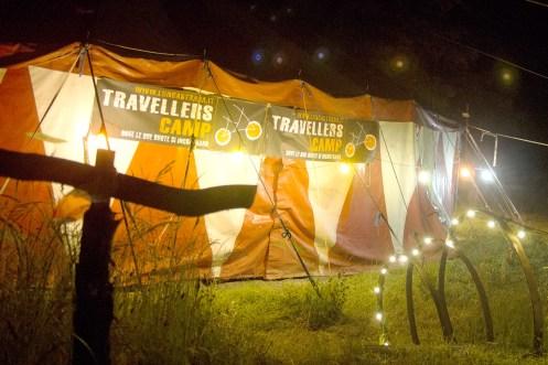 Travellers Camp 2016, le presentazioni dei viaggiatori nel tendone
