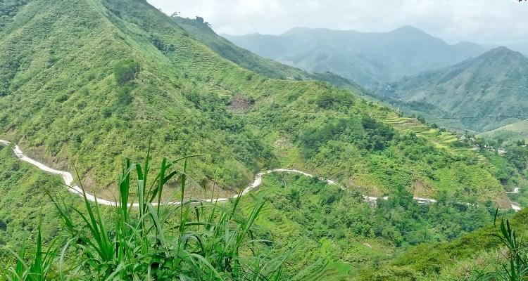 Filippine in moto, strade sterrate sulla Cordillera fra le risaie