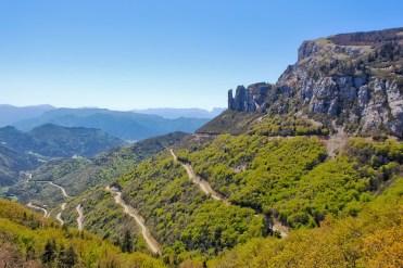 Vercors in moto, la strada per Col de Rousset