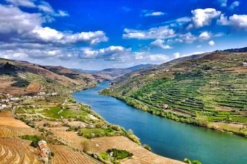 Portogallo in moto, vallata del fiume Douro