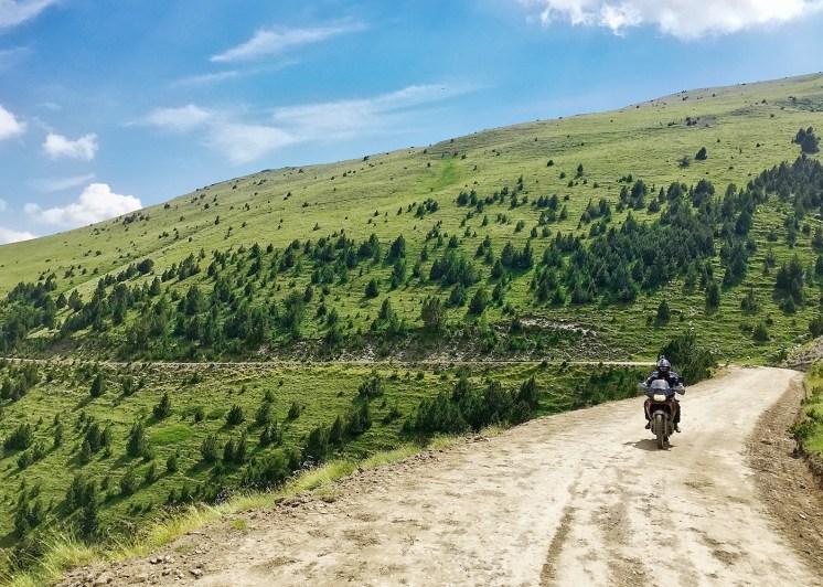 Pirenei in moto: sterrati verso Saint-Laurent-de-Cerdans