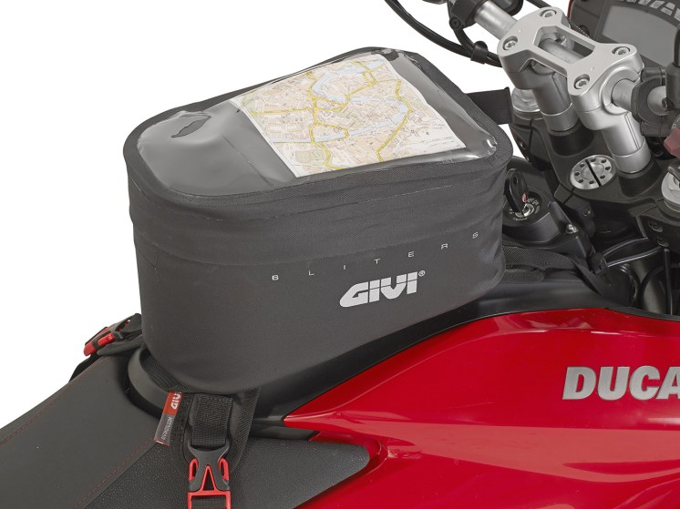 Borsello da serbatoio GIVI GRT706 su Ducati Hyperstrada