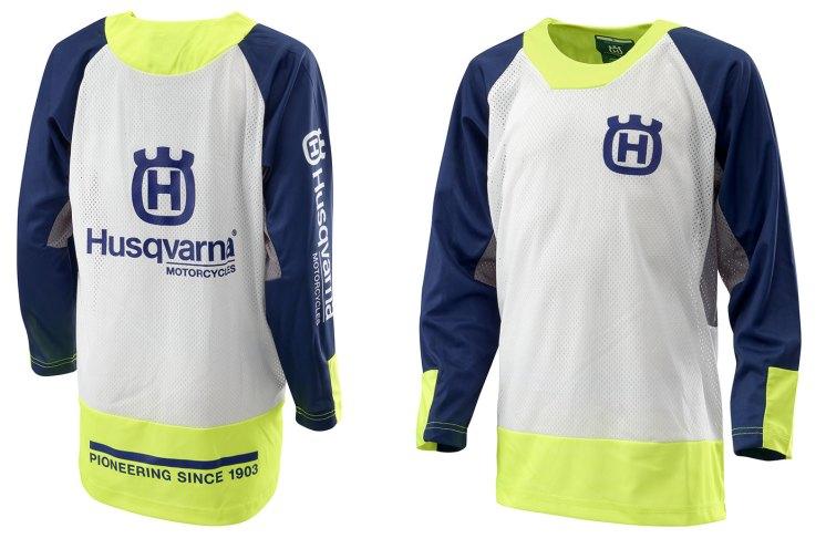 Abbigliamento tecnico Husqvarna per i più giovani