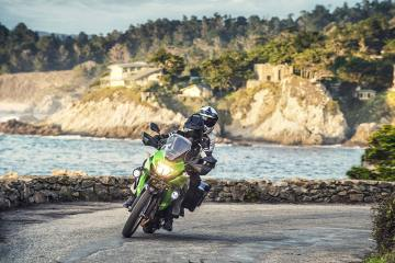 Kawasaki Versys-X 300 in azione