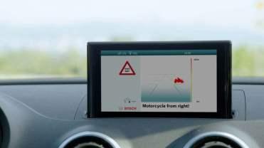 Scudo digitale Bosch, l'avvertimento sul cruscotto dell'autista
