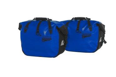 Borse laterali morbide Touratech Endurance Click in blu