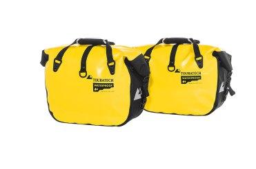 Borse laterali morbide Touratech Endurance Click in giallo