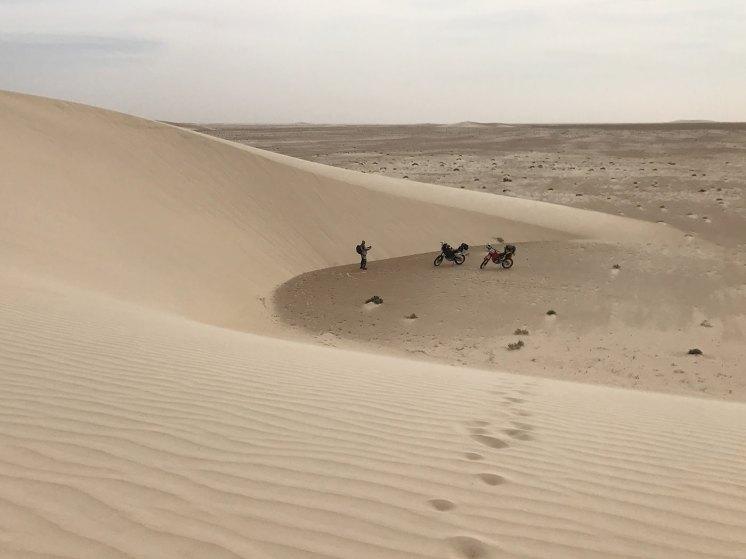 Dune di sabbia Boujdour