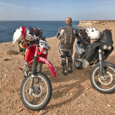 Boujdour Parigi Dakar in moto
