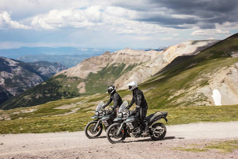 New Triumph Tiger 800 2018 adventure