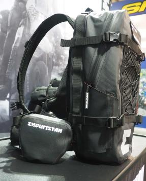 zaino Hurricane Enduristan con Add Pack presentato all'EICMA 2017