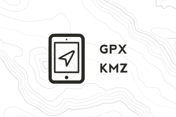 download tracce gpx kmz