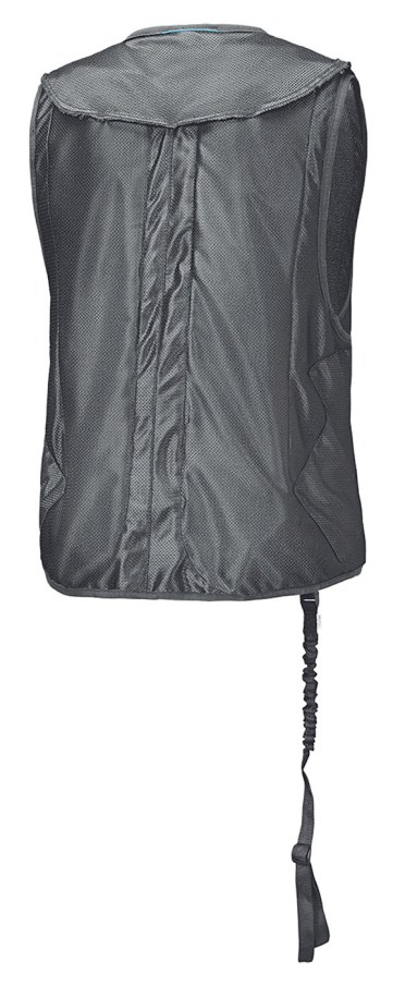 held clip in air vest