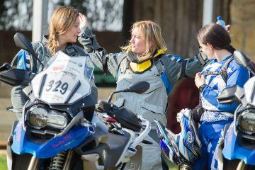 doppia squadra femminile BMW GS trophy