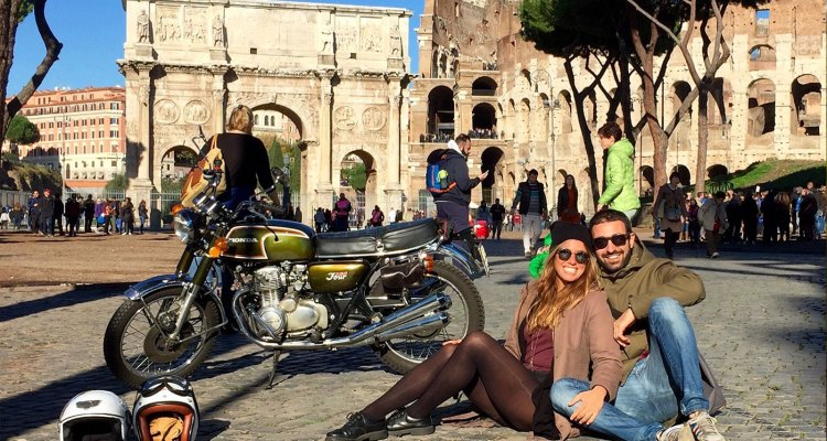 Roberto Agostini The Bikerchefproject viaggiare e cucinare