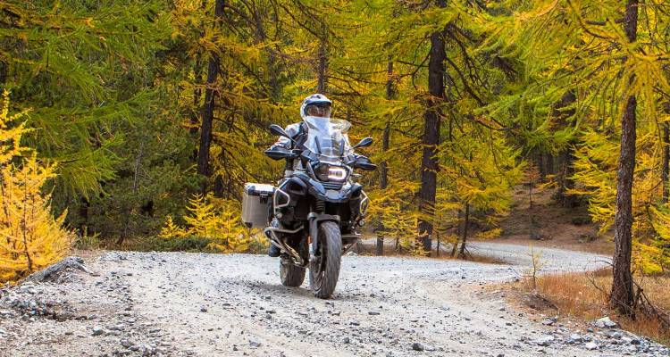 test BMW R 1200 GS Adventure in Val di Susa