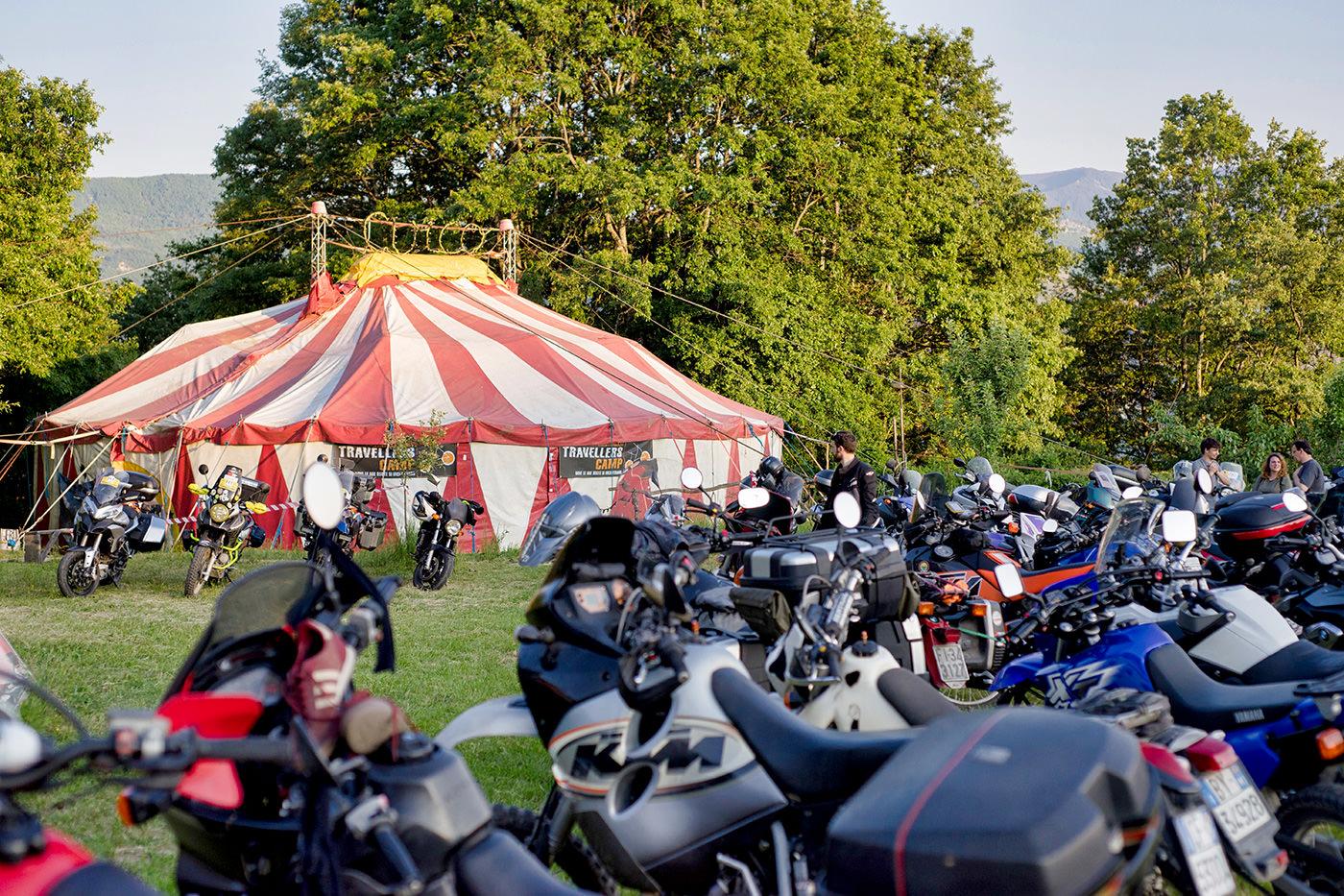 Travellers Camp 2018 per moto viaggiatori