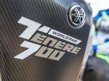 nuova yamaha TT 700 hardalpitour 2018