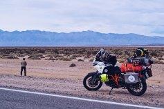 Roberto Agotini e Pagi The Bikerchefproject Viaggio in Sud America prima parte Cile