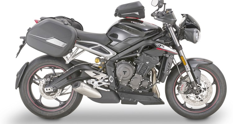 Borse laterali termoformate da GIVI st604 per moto veloci