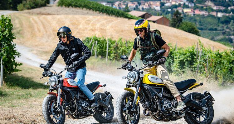 Ducati Scrambler 2019 prova fuoristrada