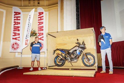 HAT hardalpitour 2018 presentazione Yamaha TT