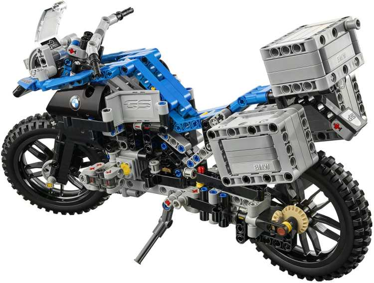 modellino Lego BMW R 1200 GS Adventure