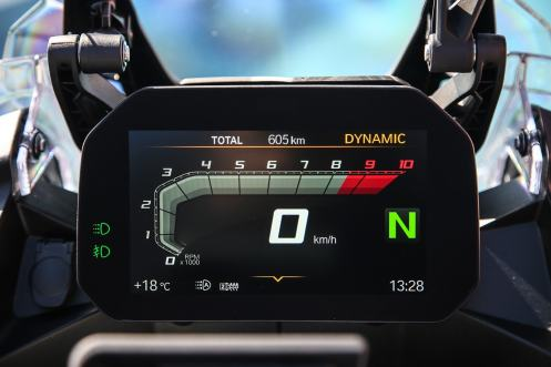 """BMW F 850 GS Adventure, il display TFT da 6,5"""""""