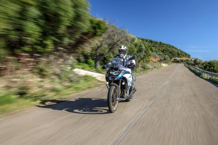 BMW F 850 GS Adventure, prova su strada