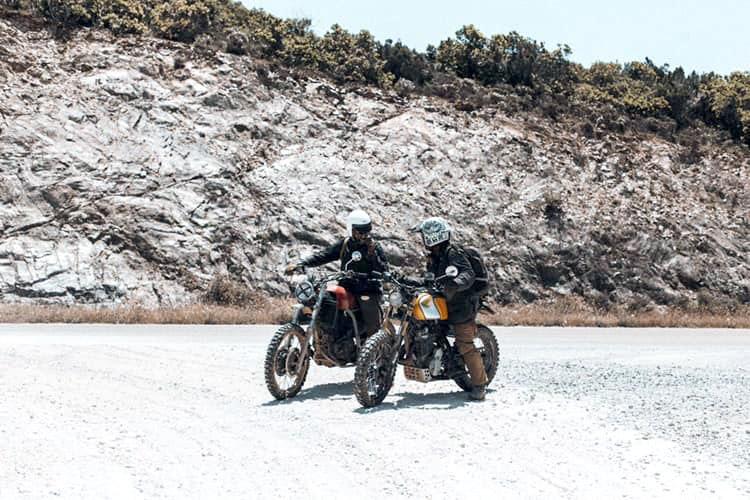 Ultimi posti per la Dust'n Sardinia in scrambler