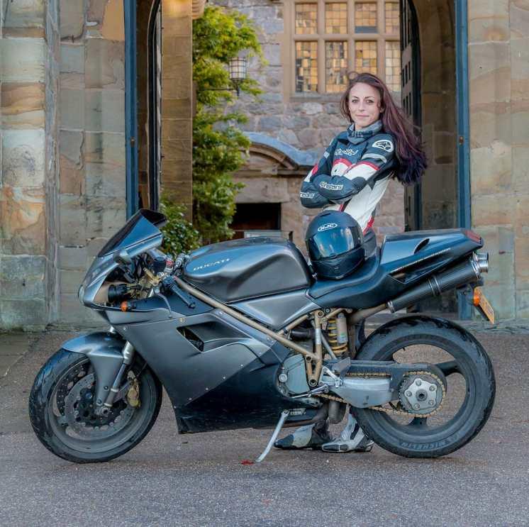 Women Riders World Relay Hayley Bell
