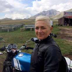 Women Riders World Relay Monica Zoi