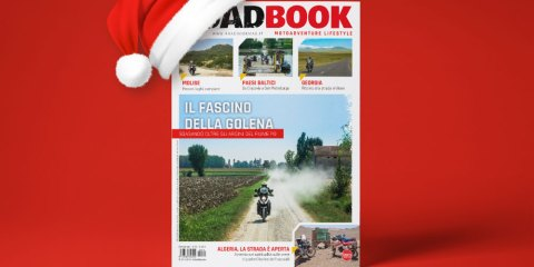 regala la rivista RoadBook a Natale 2019