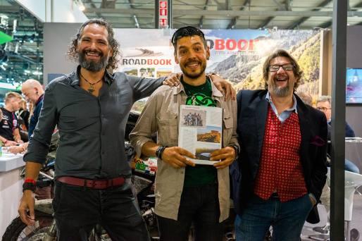 stand-roadbook-eicma-2019-massimiliano-maria-longo-daniele-donin-davide-virardi
