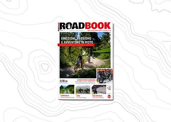copertina rivista RoadBook numero 15
