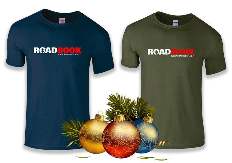 T-shirt ufficiali rivista RoadBook