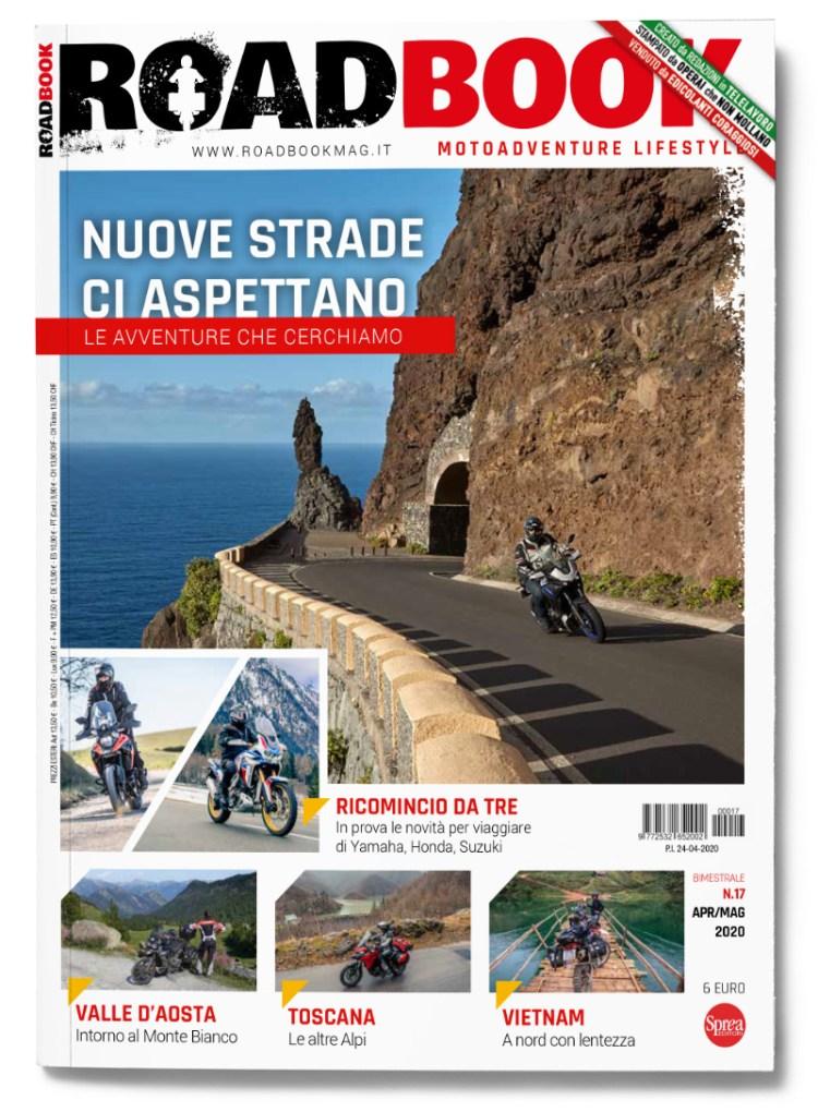 Copertina rivista RoadBook numero 17