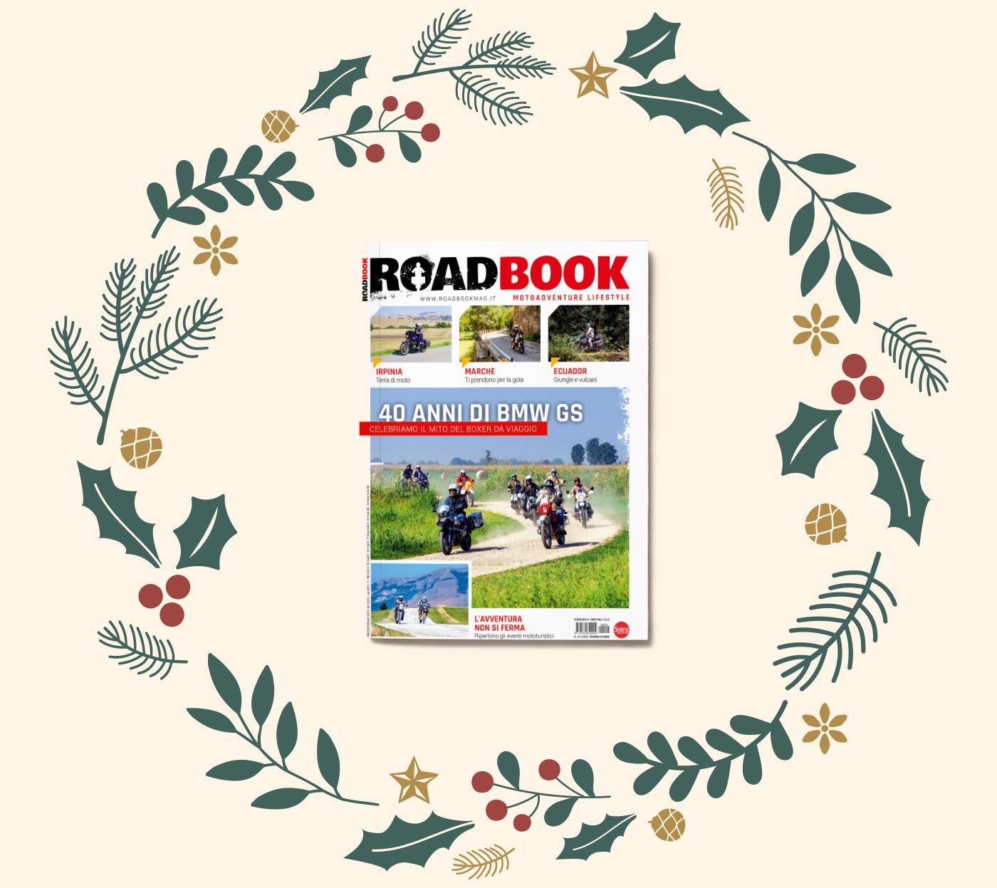 regala un abbonamento alla rivista RoadBook