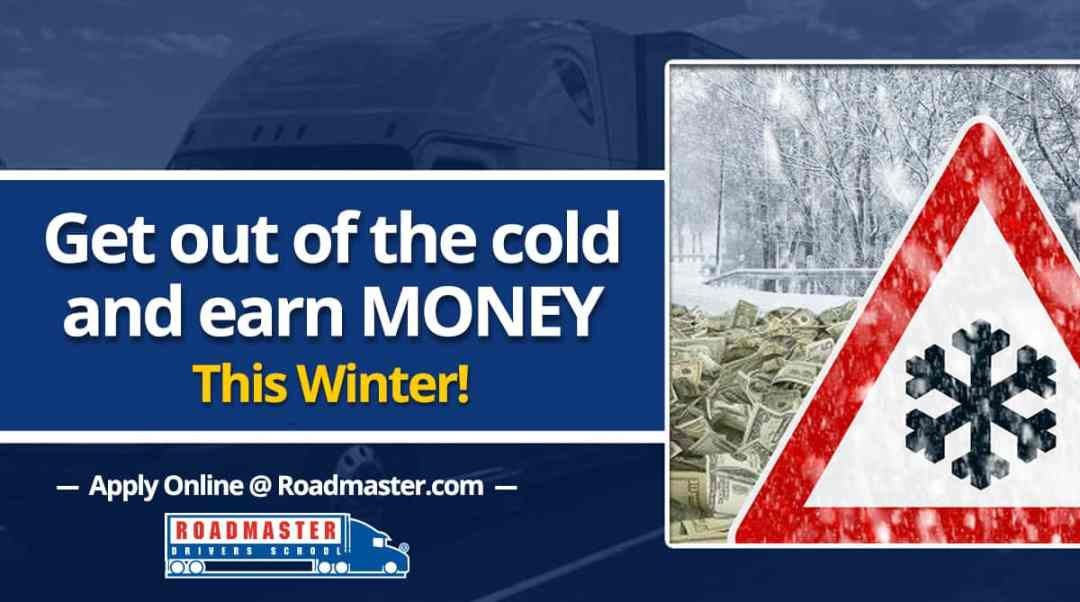 Get Out Of The Cold And Earn Money This Winter!