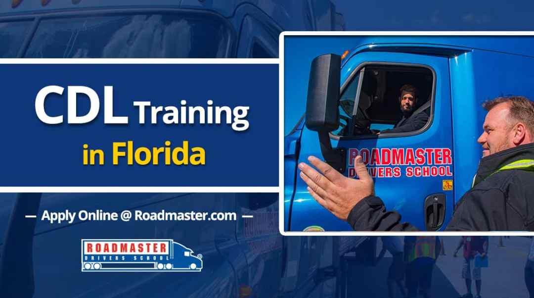 Cdl Training In Florida Roadmaster Drivers School