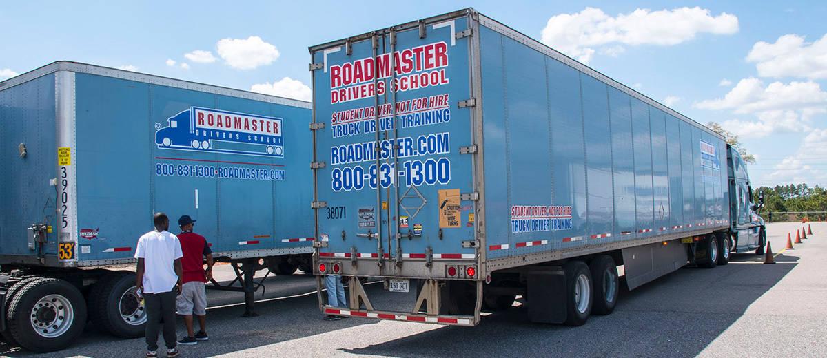 ロードマスタートラック運転