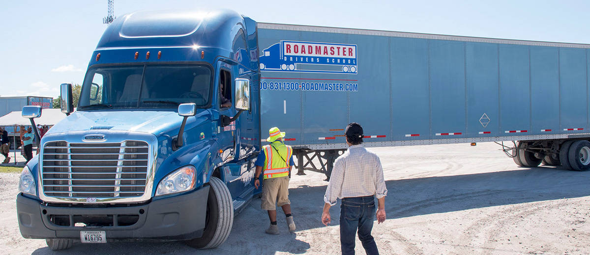 orlando fl cdl training truck driving school roadmaster. Black Bedroom Furniture Sets. Home Design Ideas