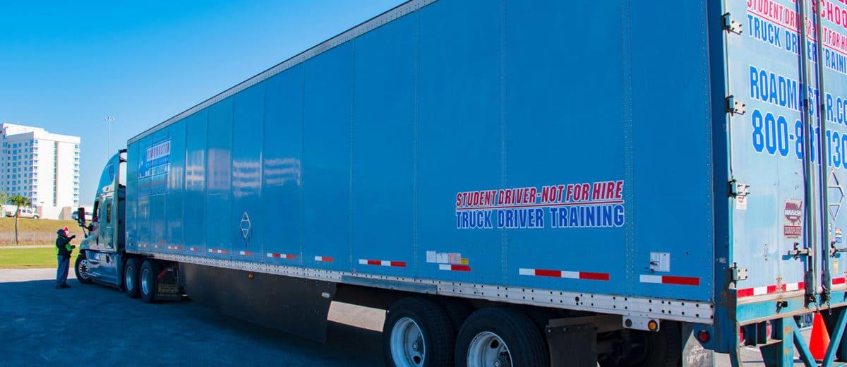 Cdl Training Truck Driving School In Fontana Ca Roadmaster
