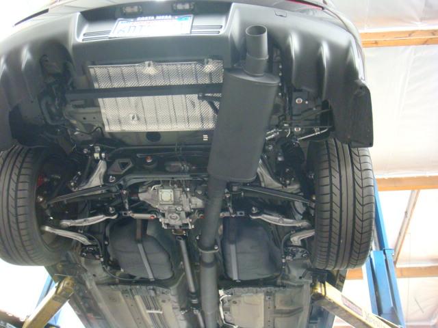 rre evo x custom exhaust systems