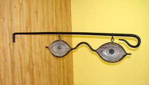 Eye Glasses Optometrist Trade Sign, trade signs, vintage signs, collectible signs