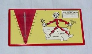 Vintage Thermometer Reddy Kilowatt, OLD SIGNS, Old Unique Advertising Signs , Vintage advertising signs
